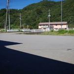 手打うどん 小俣 - 駐車場