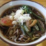 さくら茶屋 - 料理写真:山菜そば1
