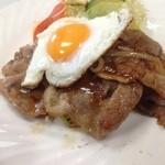 松月食堂 - 豚肉生姜焼き☆