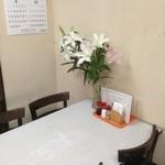 松月食堂 - 生花でした