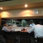松月食堂 - すぐお客さんが^^