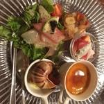 プチレストラン 雅司亭 - 前菜
