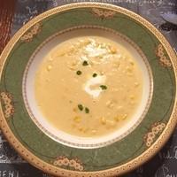 プチレストラン 雅司亭-コーンスープ