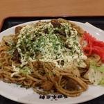 長田本庄軒 - 料理写真:ぼっかけトロ玉焼そば