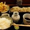Suwaranochouzaburou - 料理写真:かき揚げせいろランチ