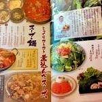 炭火焼肉 金剛園 - サラダ/スープ・鍋 2015/05