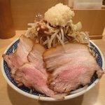 ○寅 - 豚角ふじ麺 野菜増し