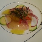 ラ スフォリーナ - ☆ 前菜 鮮魚のカルパッチョ