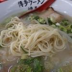 博多ラーメン 博多駅 - 細麺