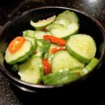 老四川 - 前菜の漬物
