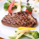 ぼばる - 黒毛和牛のステーキ