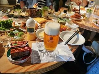 KURAND SAKE MARKET 池袋店 - ビールはサントリーのみ200円