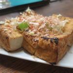 新川屋酒店 - 料理写真:厚揚げ