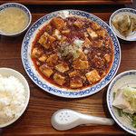 42825679 - 麻婆豆腐ランチ