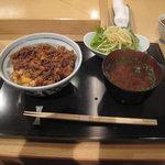 恵比寿 いっこん - かき揚げ天丼¥1,200