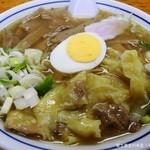 富士屋 - メンマワンタンメン¥850