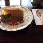 かふぇ そらしど - スフレチーズケーキ