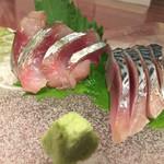 魚・食・笑 ちょうど - 松輪サバのお刺身&〆サバ