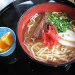 うるうるま - ソーキそば(¥950)