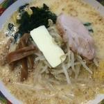 味の札幌 - 味噌カレー牛乳ラーメン800円