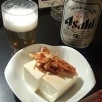42842726 - 大瓶ビール+キムチ奴