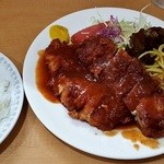 洋食おがわ - チキンカツレツ850円