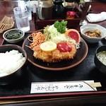 やきかつ太郎 - やきかつ定食(上)