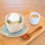 Caju×果樹 - 雪どけコーヒー (520円) '15 7月下旬