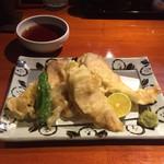 酒菜家 米人 - 鶏天...美味しく頂きました(^ ^)  天つゆも、美味です‼️