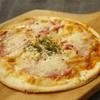 ボローニャソーセージのピザ
