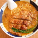 支那麺 はしご - 排骨坦々麺