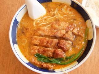 支那麺 はしご 新小岩店 - 排骨坦々麺