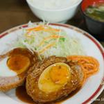 キッチン大正軒 - スコッチエッグ定食【2015年9月】