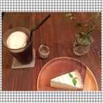 ヨウケル舎 - レモンタルト クリームアイスコーヒー