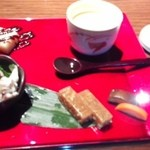 42847782 - 前菜と茶碗蒸し