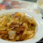 王ちゃんの中華 - 豚肉とキャベツの味噌炒め【2015年10月】
