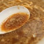 麺人 しょう太郎丸 - 後々スープ
