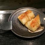42849000 - 2015/10/9 お通しです。 ジャガイモのバター焼き(300円)。 美味しいです( *`ω´) とっても(=゚ω゚)ノ