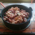 松美食堂 - ホルモン焼き2