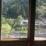 松美食堂 - 松美食堂座敷の窓からの絶景
