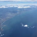 42849897 - 空弁しながら、遠ざかる九州を眺める