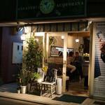 ジェラテリア アクオリーナ - お店は祐天寺駅から歩いてすぐ。