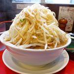 42853649 - ラーメン(野菜マシマシ、辛玉)730円