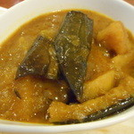 アロック インディアンレストラン - 茄子のカレー