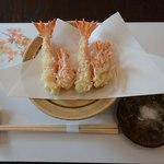 42855635 - 天使の海老の天ぷら