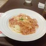 今日和 - にんにくチーズトマトパスタ