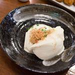 和食れすとらん 天狗 - 毎日店仕込み寄せ豆腐