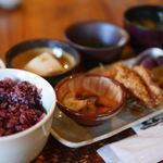 夢市茶屋 - 古代米定食
