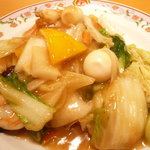 餃子の王将 - 八宝菜(\525-)