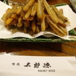 42863972 - ごぼうの天ぷら